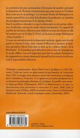 Robespierre : entre vertu et terreur - 4ème de couverture - Format classique