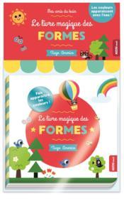 Le livre magique des formes - Couverture - Format classique
