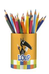 Mon pot à crayons du Loup - Couverture - Format classique