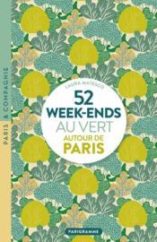 52 week-ends au vert autour de Paris (édition 2020) - Couverture - Format classique