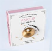 Kit bracelet ; le pouvoir des pierres ; amour quartz rose - Couverture - Format classique