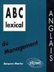 Abc Lexical Du Management Anglais - Intérieur - Format classique
