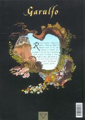 Garulfo t.6 ; la belle et les betes - 4ème de couverture - Format classique