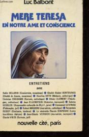 Mere theresa en notre ame et conscience - Couverture - Format classique