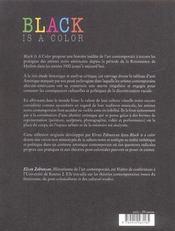 Black Is A Color (Version Francaise) - 4ème de couverture - Format classique