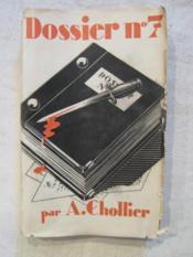 Dossier n°7 - Couverture - Format classique
