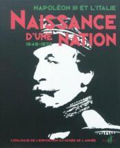 Naissance d'une Nation, Napoleon III et l'Italie - Couverture - Format classique