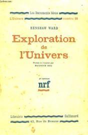 Exploration De L'Univers. Collection : Les Documents Bleus. L'Univers N° 18 - Couverture - Format classique