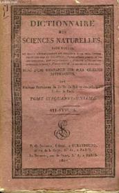 Dictionnaire des Sciences Naturelles. TOME LI : Sti - Syst. L. - Couverture - Format classique