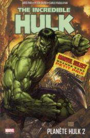 Planète Hulk T.2 - Couverture - Format classique