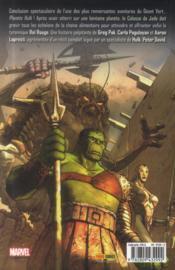 Planète Hulk T.2 - 4ème de couverture - Format classique