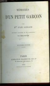 Memoires D'Un Petit Garcon - Couverture - Format classique
