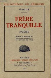 Frere Tranquille - Couverture - Format classique