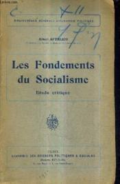 Les Fondements Du Socialisme Etude Critique. - Couverture - Format classique