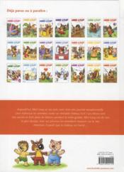 Mini-Loup et le château fort - 4ème de couverture - Format classique