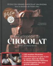 Encyclopédie du chocolat - Couverture - Format classique