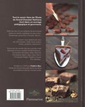 Encyclopédie du chocolat - 4ème de couverture - Format classique