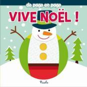 Vive Noël ! - Couverture - Format classique