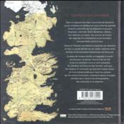 Game of thrones ; le trône de fer ; les maisons suzeraines de Westeros - 4ème de couverture - Format classique