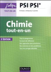Chimie tout-en-un PSI-PSI* (3e édition) - Couverture - Format classique