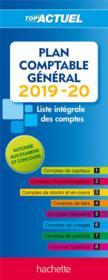 Top'actuel ; plan comptable (édition 2019/2020) - Couverture - Format classique