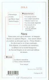 Nana - 4ème de couverture - Format classique