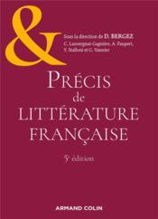Précis de littérature française (5e édition) - Couverture - Format classique