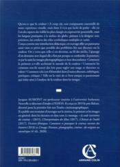 Introduction à la couleur ; des discours aux images - 4ème de couverture - Format classique