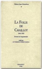 Cahiers Jean Giraudoux T.24 - Couverture - Format classique