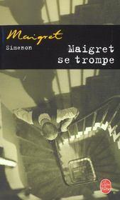 Maigret se trompe - Intérieur - Format classique