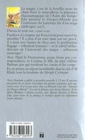 Les annales du Disque-monde T.5 ; sourcellerie - 4ème de couverture - Format classique