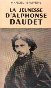 La jeunesse d'Alphonse Daudet - Couverture - Format classique