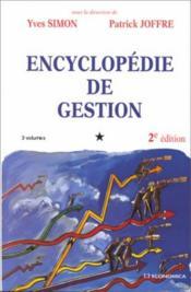 Encyclopedie De Gestion - Couverture - Format classique