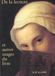De La Lecture Et Autres Usages Du Livre - Intérieur - Format classique