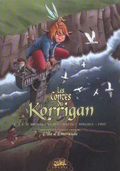 Les contes du korrigan T.5 ; l'île d'émeraude - Intérieur - Format classique
