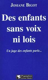 Des Enfants Sans Voix Ni Lois - Intérieur - Format classique