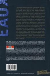 Ingenierie des eaux et du sol - 4ème de couverture - Format classique