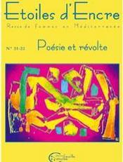 Etoiles D'Encre T.21-22 ; Poesie Et Revolte - Intérieur - Format classique