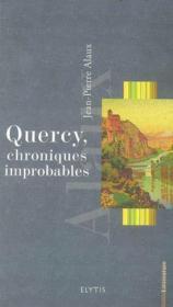 Quercy, Chroniques Improbables - Couverture - Format classique