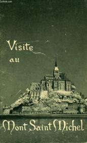Visite au Mont Saint- Michel - Couverture - Format classique