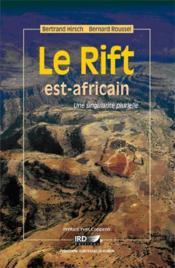 Le rift est-africain ; une singularité plurielle - Couverture - Format classique