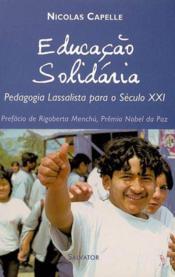 Educacao Solidaria - Couverture - Format classique