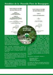 Revue Scientifique Bourgogne-Nature N.5 ; Catalogue De La Flore De La Nièvre - 4ème de couverture - Format classique