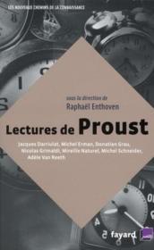 telecharger Lectures de Proust livre PDF en ligne gratuit