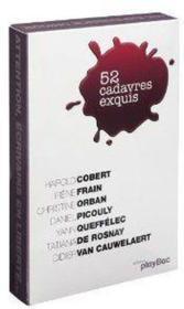 Calendrier 52 cadavres exquis - Couverture - Format classique
