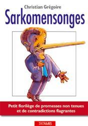 Sarkomensonges - Couverture - Format classique