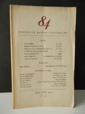 REVUE 84. Numéro 18 / mai-juin 1951 - Couverture - Format classique