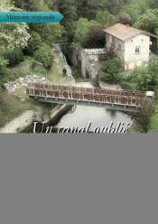 Un canal oublié ; de Givors à la Grand-Croix - Couverture - Format classique