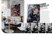 À la table des designers ; rendez-vous intimes et gourmands + 35 recettes - Couverture - Format classique