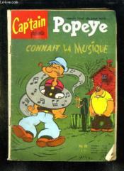 Popeye N° 8. Popeye Connait La Musique. - Couverture - Format classique